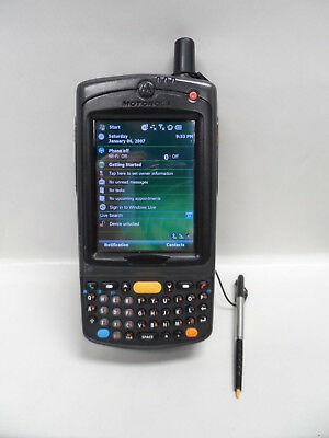 Motorola Symbol Pocket PC Barcode Scanner MC7598 - PZFSUQWA9WR with Battery Motorola Pocket Pc