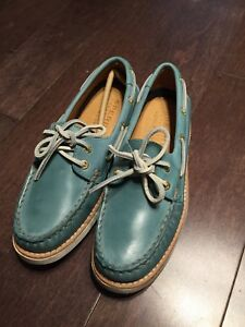 Brand New Sperry Top-Sider Leather Boat Shoes - Size 5 Women
