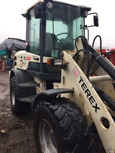 Terex articulate loader