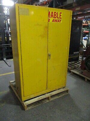 Misc. Brand Safety Storage Cabinet Size 65x43x18 Used