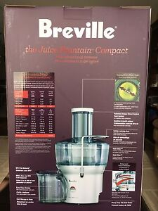 New Breville Juice fountain compact BJE200XL (juicer) St. John's Newfoundland image 2