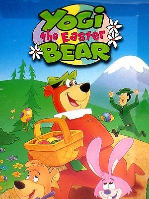 Yogi The Easter Bear  Dvd New  Free Ship  Boo Boo  Ranger  Hunt Easter Eggs