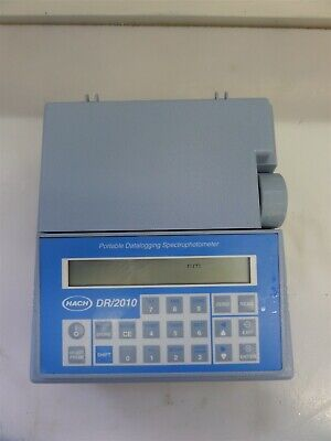 Hach Dr2010 49300-60 Portable Datalogging Spectrophotometer As Is