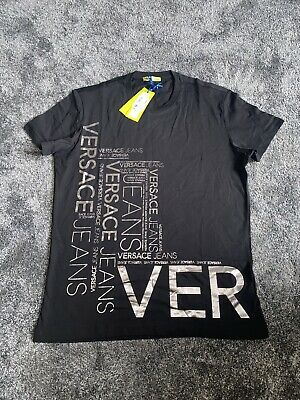 Mens BNWT Versace T Shirt Size Large RRP £95