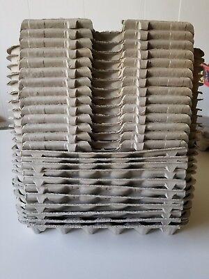 Crickets Etc New 25 pcs 30 slots Egg Flats // Trays // Cartons : Hobby School