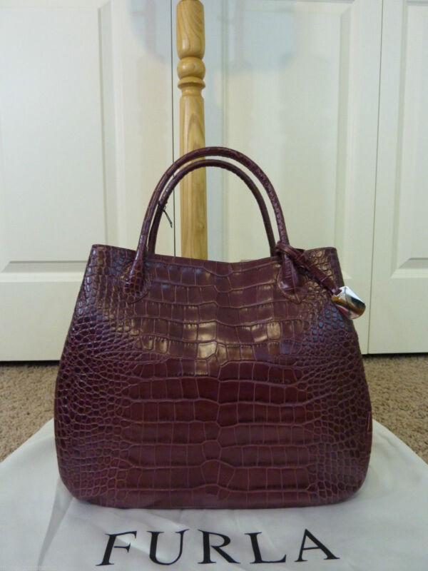 Продам сумку furla под крокодила от 2000 руб