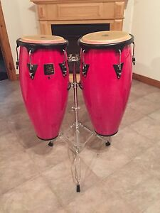 Congas and stand!