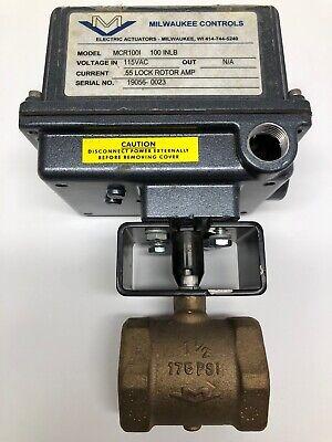 Milwaukee Valve Mcr100i Pneumatic Actuator