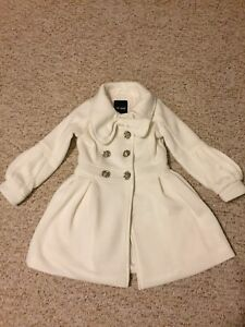 Girls size 5 dress coat.
