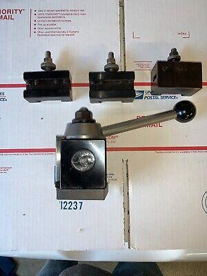 """Aloris CXA-104 Quick Change Heavy Duty Boring Bar Holder 1/"""" ID"""