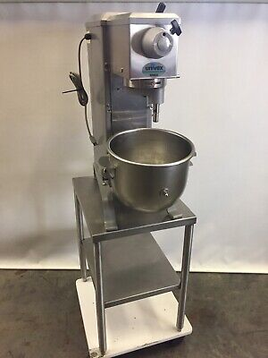 Univex Commercial Stand Mixer Srm20 20 Quart W Stainless Steel Table