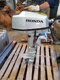 5hp Honda Outboard Henderson Cockburn Area Preview