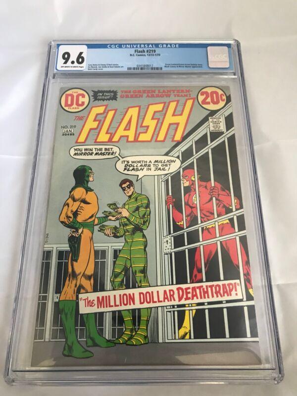 The Flash #219 CGC 9.6