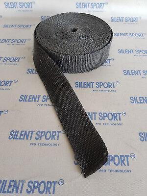 Silent Sport Auspuffband / Hitzeschutzband / Heat Protection Tape - Grau - 5m