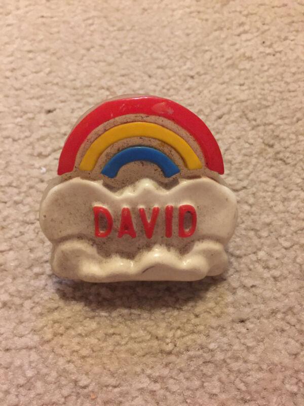 My Name  David night light