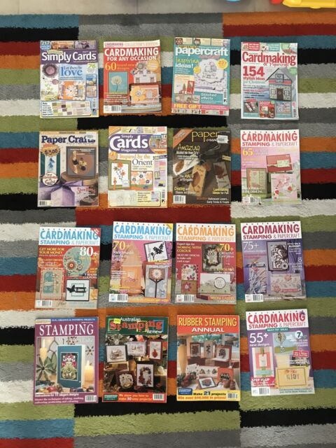 Card Making Craft And Stamping Magazines Miscellaneous Goods Gumtree Australia Joondalup