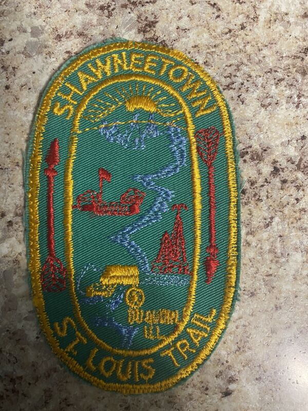 SHAWNEETOWN St. Louis Trail Scout Patch