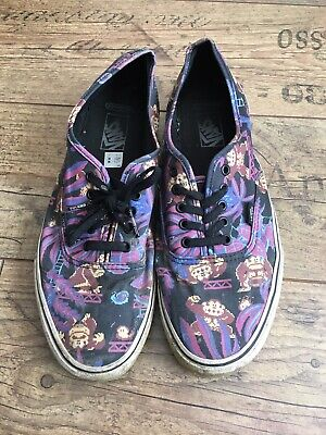 MENS RARE VANS DONKEY KONG NINTENDO GAME OVER TRAINERS / SHOES SIZE 12 DESIGNER