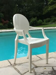 White Ghost Chairs from KARTELL ~ 4