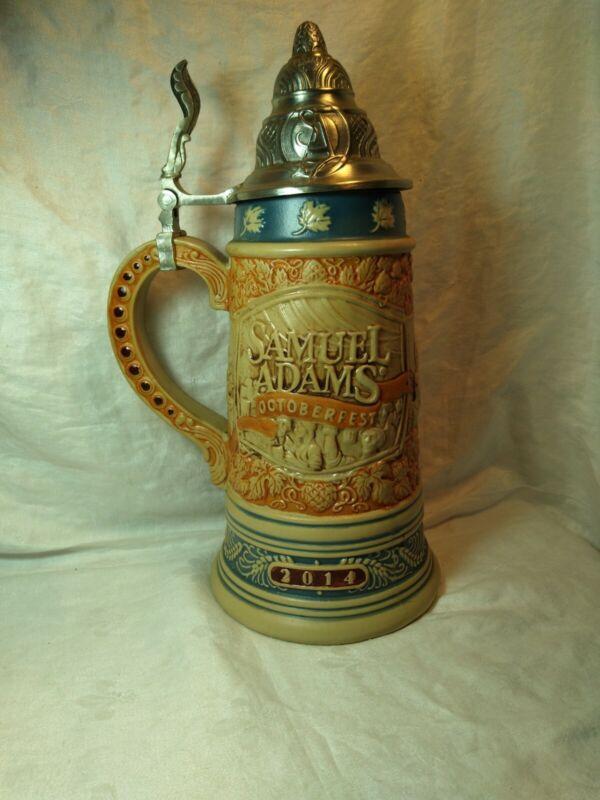 Samuel Adams Beer Stein Oktoberfest 2014