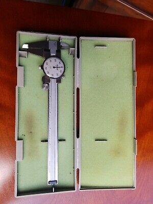 Mitutoyo 6 Inch Dial Caliper 505-637