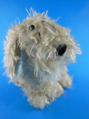 Vintage RUSS BERRIE Puppy Dog Plush Stuffed Animal Toy CURLY Cream 6""