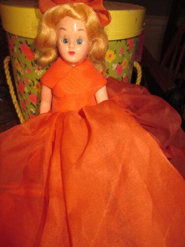 Vintage Blinky Eyed Halloween Creepy Doll