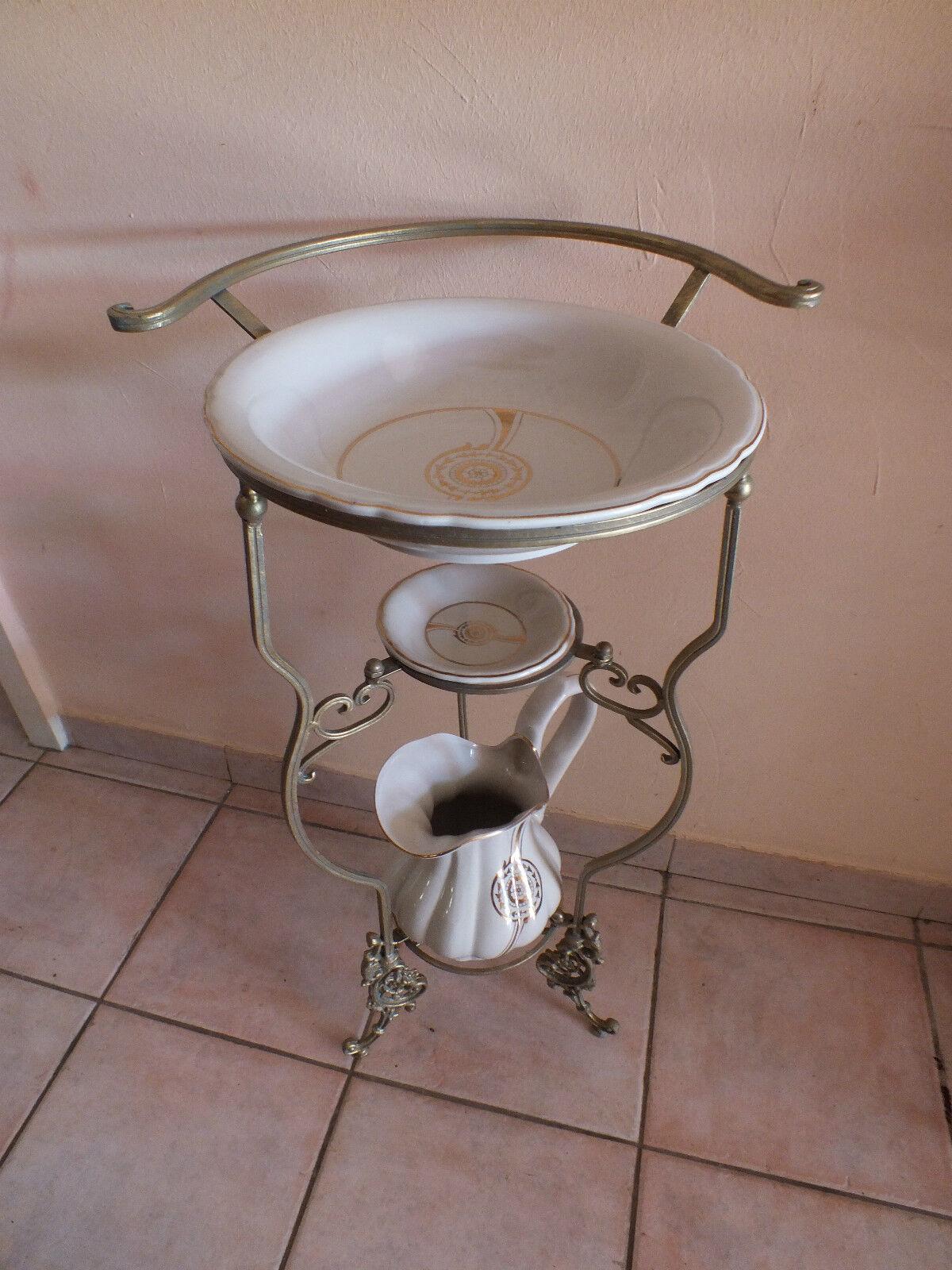 nur abholung waschset wasch set gold verziert porzellan. Black Bedroom Furniture Sets. Home Design Ideas