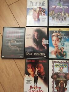 DVDs $5 each $50 for all