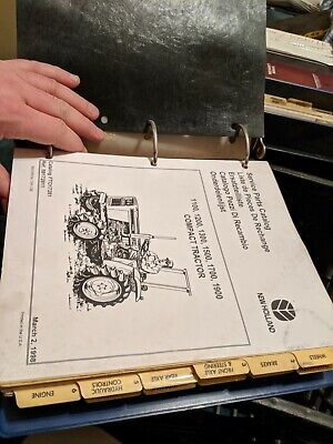 New Holland Ford Tractor Parts Catalog 11001200130015001700