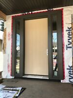 ALUMINUM CAPPING, WINDOWS AND DOORS INSTALLATION