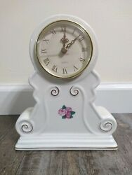 PS Limited Addition 1998 Ceramic Table Clock Pre Owned