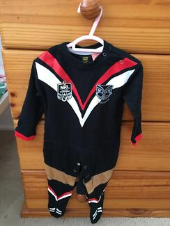 Warriors Onesie - Brand New Without Tags, Never worn