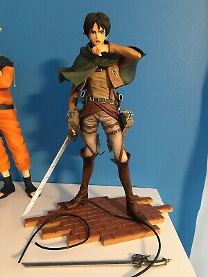 Attack on Titan Eren Yeager 1/8 PVC Figure Official Sentinel BRAVE-ACT No Box US