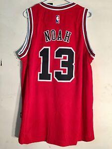 8232c99d653 Adidas Swingman 2015-16 NBA Jersey Chicago Bulls Joakim Noah Red sz XL