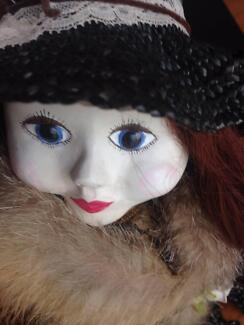 Doll - hand-crafted