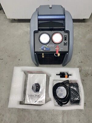 Inficon 714202g1 120v 1hp Vortex Dual Refrigerant Recovery Machine New
