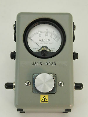 9933 BIRD RF DIRECTIONAL THRULINE WATTMETER (NEW) 43