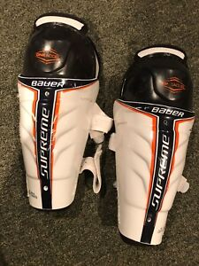 Hockey or Ringette Shin Pads 8 inches