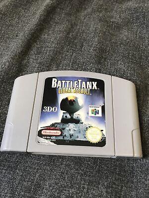 BattleTanx Global Assault - N64 - PAL - Cartridge Only
