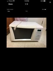Small Microwave-First Come, First Serve