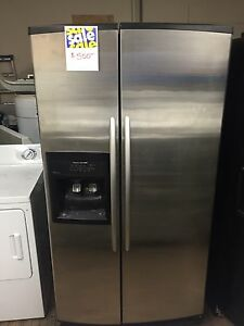 Used appliances.  Warranty available