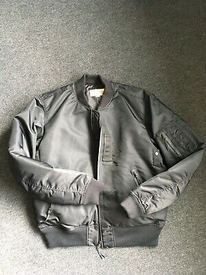 Men's Ralph Lauren Denim and Supply black bomber jacket size Large