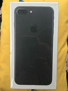 iPhone 7 Plus 32gb Black *New Sealed* Mount Gravatt Brisbane South East Preview