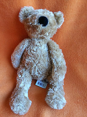"Jellycat Medium Tumbler Bear Soft Toy Comforter Hug Toy J676 Honey Coloured 10"""