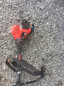 Troy Bilt 4 cycle T Troy Bilt 4 cycle brush and weed cuter.