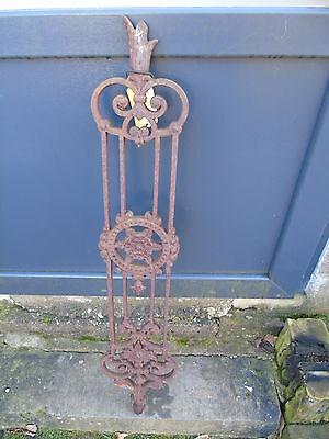 plaque,grille,face de porte, fronton , décoration en fonte avoir !!
