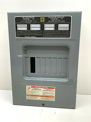 Square D Qo6-12l100s Main Lug Load Center 100-amp 240v Max 6-space 12-circuit