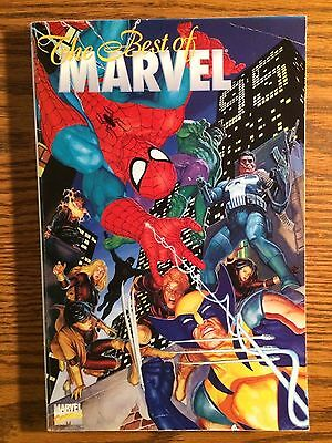 The Best of Marvel 95 TPB TP softcover 1995 Graphic Novel Spider-Man