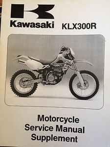 1997 2000 Kawasaki KLX300 Service Manual Supplement